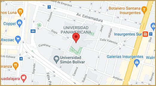 universidad-panamericana-campus-ciudad-de-mexico-mapa-mixcoac-UPMX-Jul21